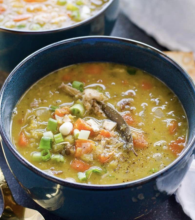 Split Pea Soup – Instant Pot or stove top