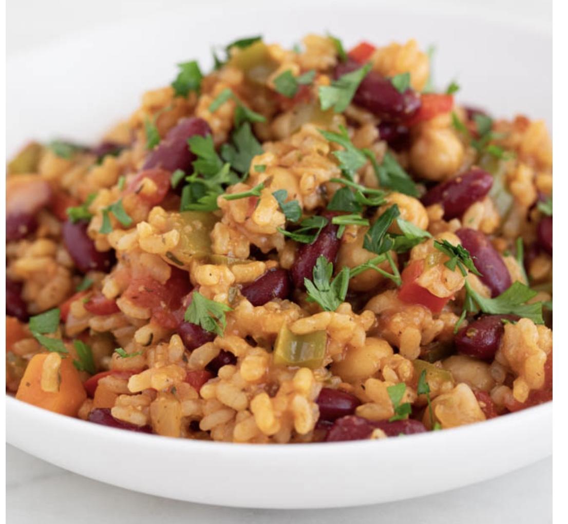 Vegetable Jambalaya