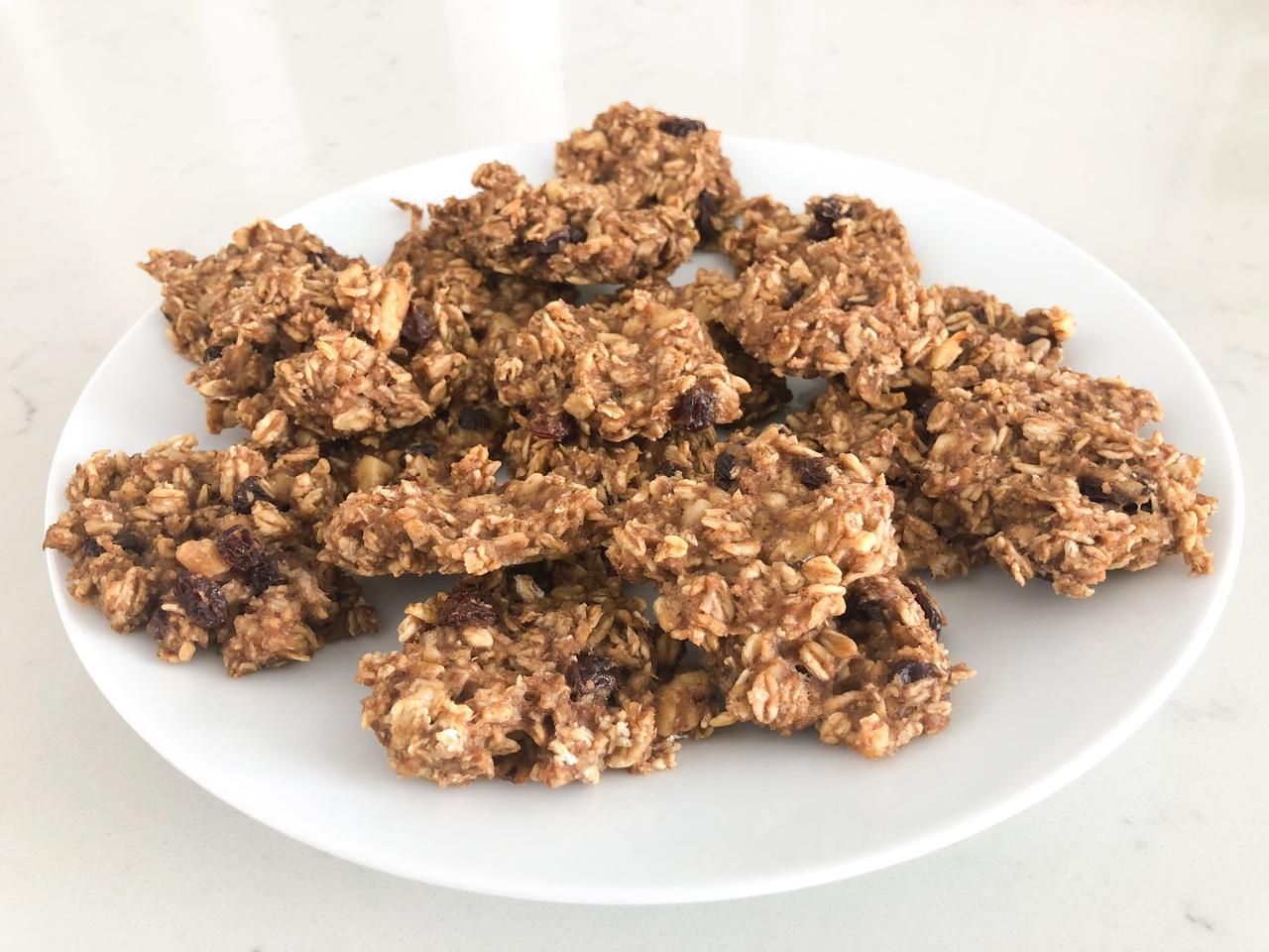 Barbara's Healthy Oatmeal Cookies