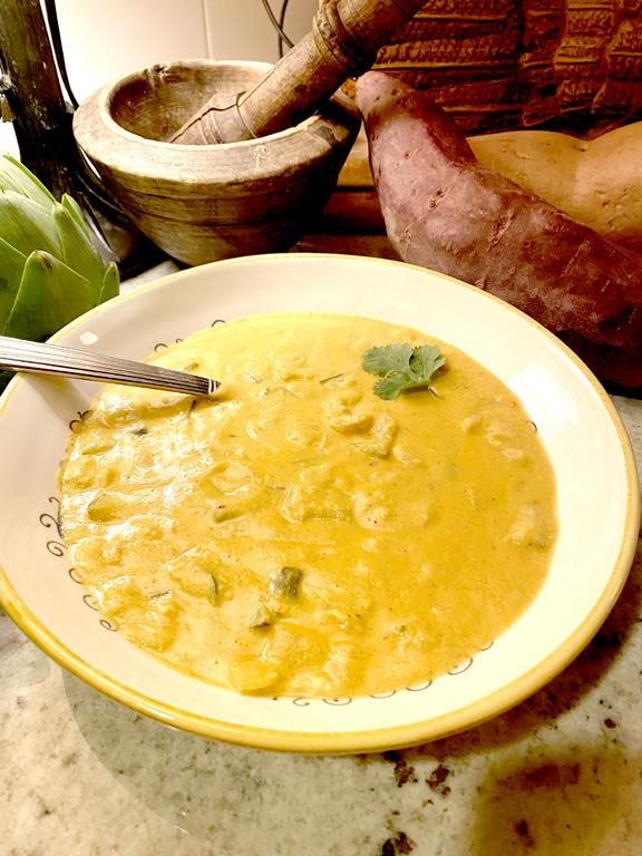 Zucchini Chedda Soup