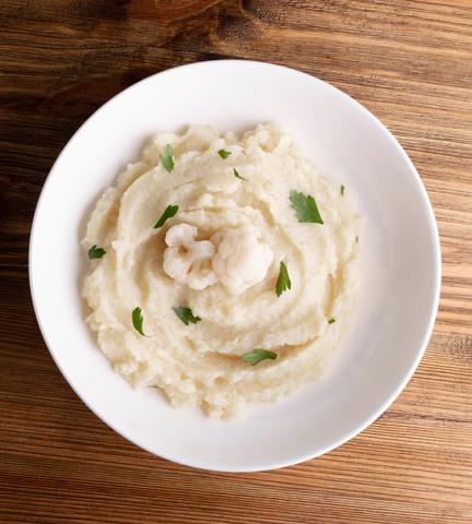 Creamy Vegan Cauliflower Mashed Potatoes
