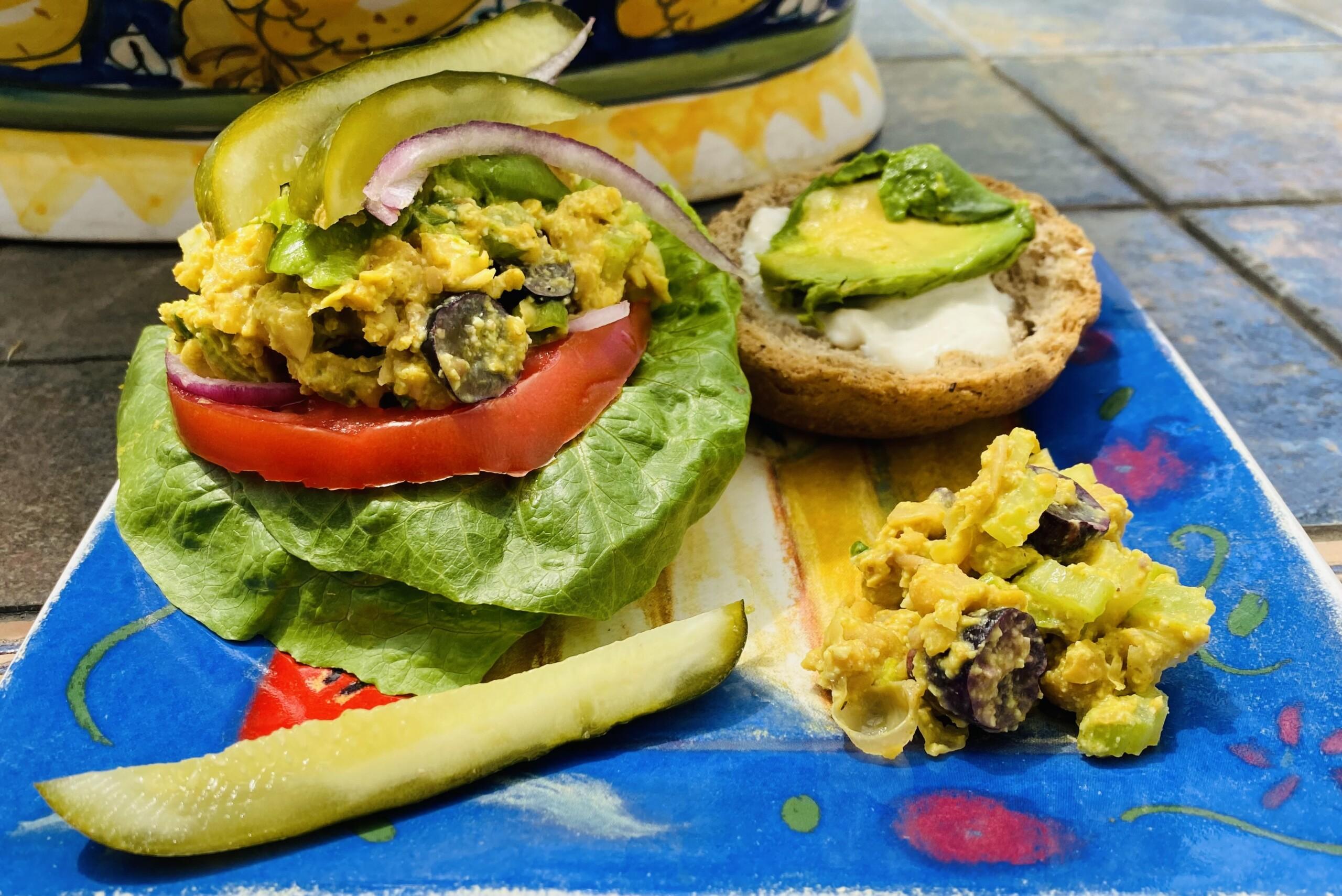 Vegan Curried Chickpea Salad